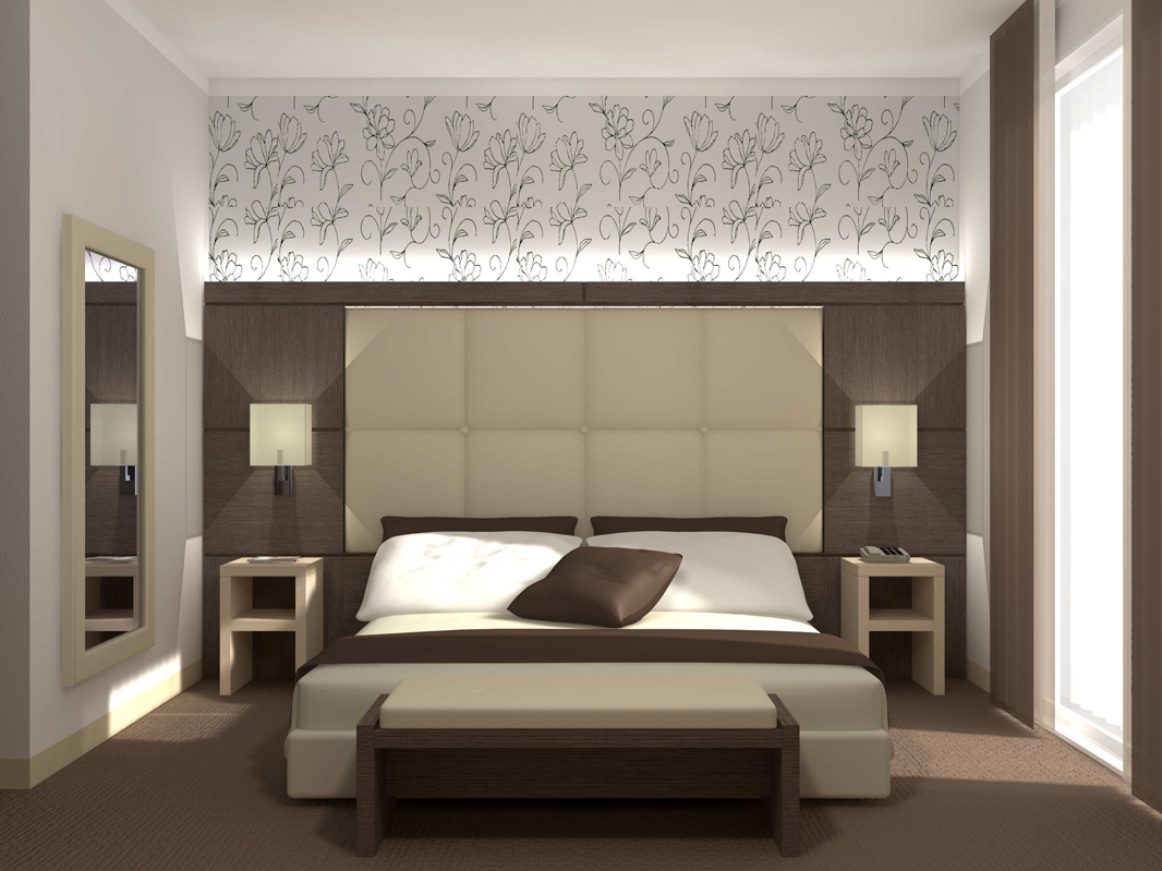 Arredo camere da letto e suite hotel for Camere di design